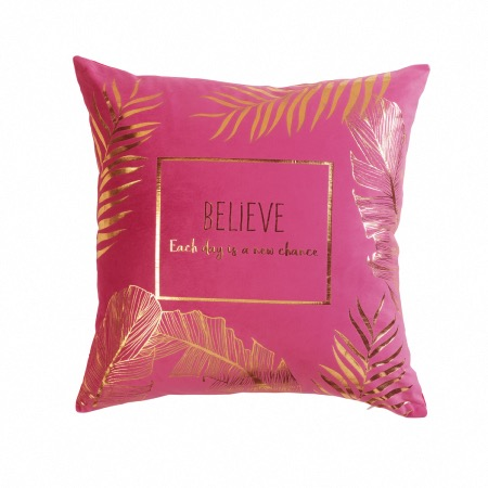 COUSSIN OR BELEAVES ROSE DES. PLACE